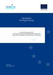 Slututvärderingsrapport Tillväxtskolan mars-11.pdf - Svenska ESF ...