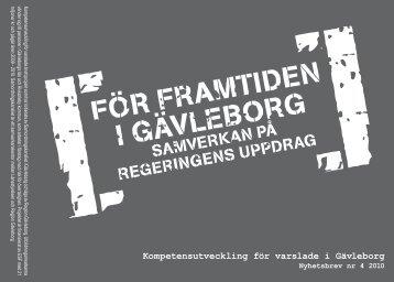 Nyhetsbrev Kompetensutveckling nr 4pdf.pdf - Region Gävleborg