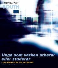 Unga som varken arbetar eller studerar - Svenska ESF-rådet