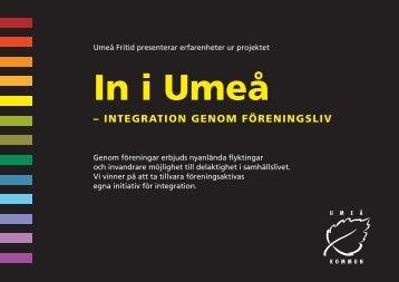 In i Umeå folder - Svenska ESF-rådet