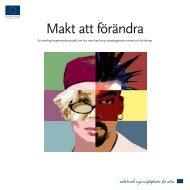 Makt att förändra - Svenska ESF-rådet