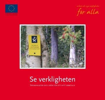 Se verkligheten - Svenska ESF-rådet