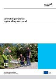 Samhälleliga mål med upphandling som medel - Svenska ESF-rådet