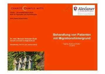 Behandlung von Patienten mit Migrationshintergrund