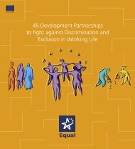 45 Development Partnerships to fight against Discrimination and ...