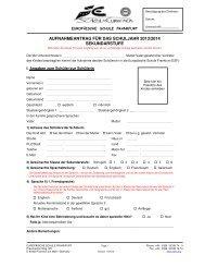 aufnahmeantrag für das schuljahr 2013/2014 sekundarstufe