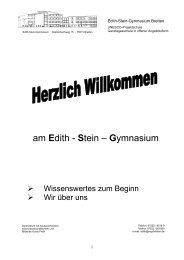 Begrüßungsmappe für neue Eltern (pdf-Datei) - Edith-Stein ...