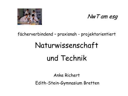 Ausdruck als pdf-Dokument - Edith-Stein-Gymnasium
