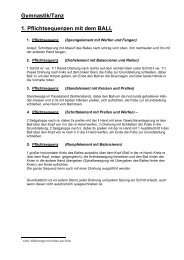 Gymnastik/ Tanz als pdf-Datei