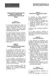 Regulamento de atribuição de Bolsas de Estudo da FCO/Fundação ...