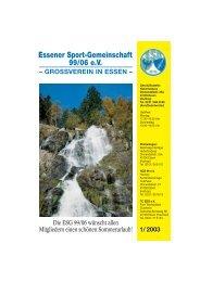 1/ 2003 Essener Sport-Gemeinschaft 99/06 eV