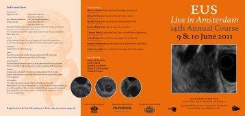 EUS Live in Amsterdam, 14th Annual Course - ESGE