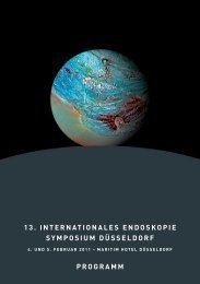 13. internationales endoskopie symposium düsseldorf - ESGE