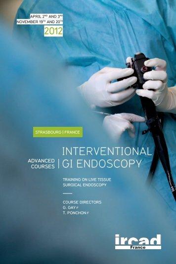 interventional gi endoscopy - ESGE