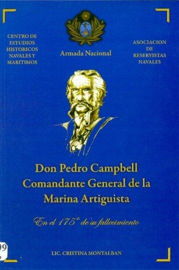 Don Pedro Campbell Comandante General de la Marina ... - esgue