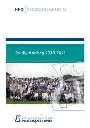 Studiehåndbog 2010-2011 - Erhvervsskolen Nordsjælland