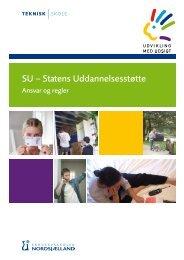 SU – Statens Uddannelsesstøtte - Erhvervsskolen Nordsjælland
