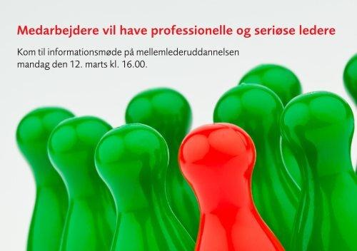 Medarbejdere vil have professionelle og seriøse ledere