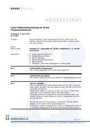 7. juni 2011 6. september 2010 - Erhvervsskolen Nordsjælland