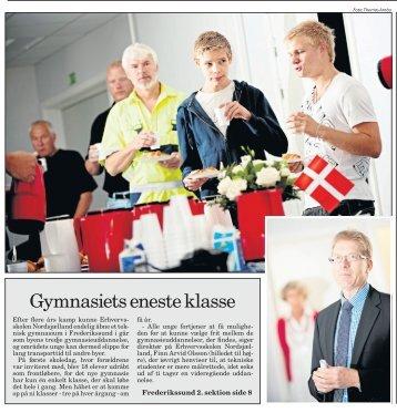 Gymnasiets eneste klasse - Erhvervsskolen Nordsjælland