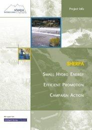 Download SHERPA presentation Leaflet - ESHA