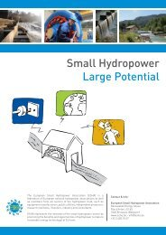 Small Hydropower Large Potential - ESHA