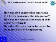 Engineering & Environmental integration - ESHA