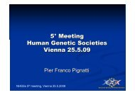and Introduction - European Society of Human Genetics