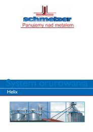 Rurociągi typu Helix -  Schmelzer