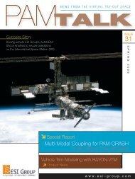 Multi-Model Coupling for PAM-CRASH - ESI Group