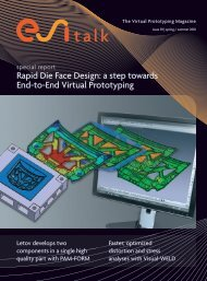 Rapid Die Face Design: a step towards End-to-End ... - ESI Group