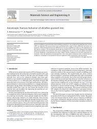 Anisotropic fracture behavior of ultrafine-grained iron - Erich Schmid ...