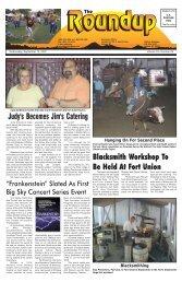 September 12, 2007 - The Roundup