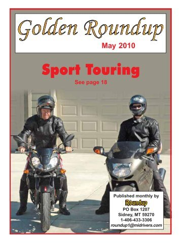 Sport Touring - The Roundup