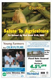 Salute To Agriculture 2009 - The Roundup
