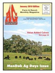 MonDak Ag Days Issue - The Roundup
