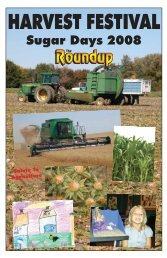 October 22, 2008 - The Roundup