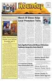 March 19, 2008 - The Roundup
