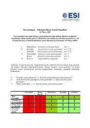 Not Çizelgesi – Schengen Beyaz Listesi Koşulları 1. 2. 3. 4.