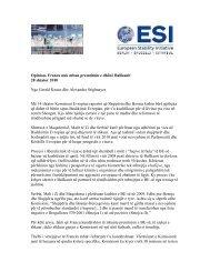 Opinion- Franca nuk mban premtimin e dhënë Ballkanit