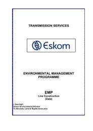 GENERIC EMP LINES.pdf - Eskom