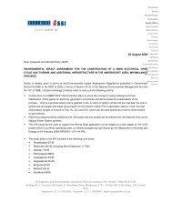 Appendix D1 - Correspondence to I&APs - Eskom
