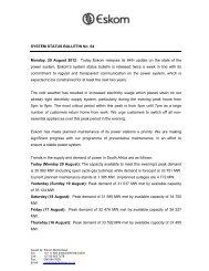 Bulletin 64 - Eskom