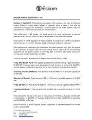 Bulletin 128 - Eskom
