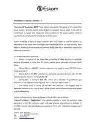 Bulletin 75 - Eskom