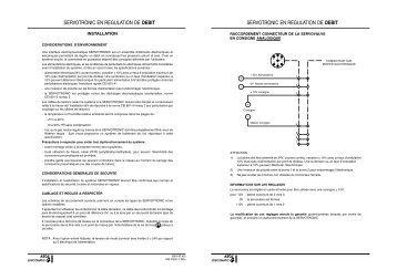 REGULATION DE DEBIT PDF