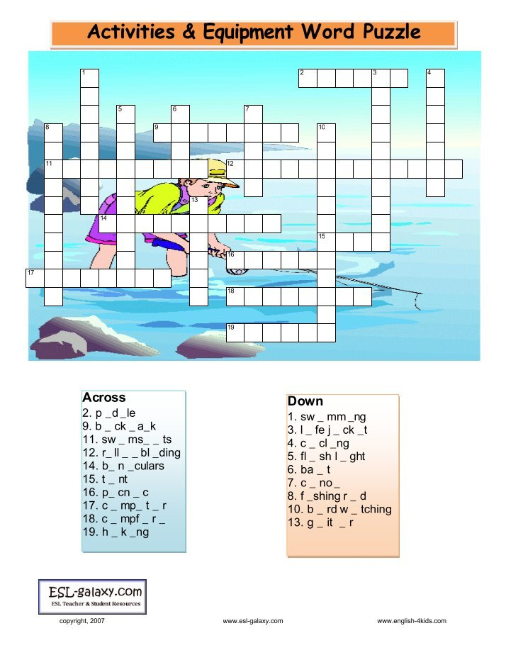 ESL Fun Games and Exercises  Classroom   Online Games ESL Tower English learning  ESL Puzzles