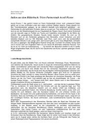 Italien aus dem Bilderbuch: Triers Partnerstadt Ascoli Piceno