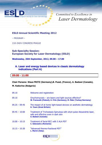 Programme_ESLD Annual Scientific Meeting_ EADV ...
