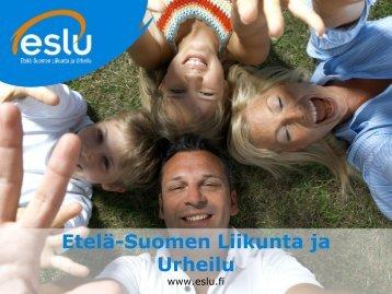 Vihdin yhdistysilta 26.1.2011 - Etelä-Suomen Liikunta ja Urheilu ry